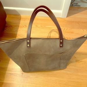Portland Leather Tote Bag